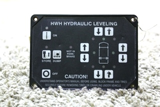 USED RV HWHW HYDRAULIC LEVELING AP10054 TOUCH PAD FOR SALE