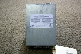 USED MOTORHOME PROGESSIVE DYNAMICS AUTOMATIC TRANSFER RELAY SWITCH PD52 FOR SALE