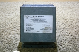 USED RV PPS AUTOMATIC LINE/GENERATOR SWITCH MODEL: ATS 5070 FOR SALE