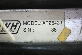 USED RV HWH 2 RING LEVELING CONTROL BOX AP25431 FOR SALE