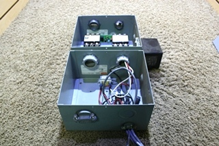 USED POWER 50 TRANSFER ES50M-65N AUTOMATIC GENERATOR - SHORELINE TRANSFER SWITCH RV PARTS FOR SALE