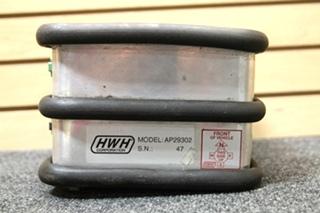 USED RV/MOTORHOME HWH LEVELING CONTROL BOX PN: AP29302 SN: 47