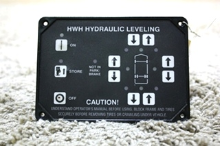 USED MOTORHOME HWH HYDRAULIC LEVELING AP10216 TOUCH PAD FOR SALE
