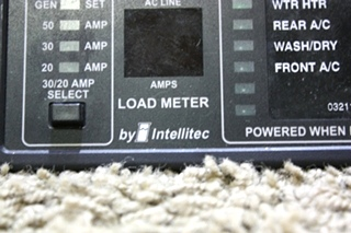 USED MOTORHOME INTELLITEC 50 AMP SMART EMS DISPLAY 00-00684-100 FOR SALE