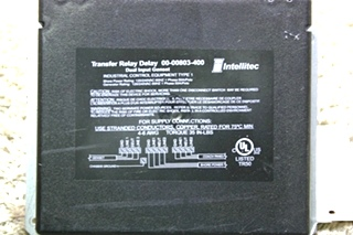 USED INTELLITEC TRANSFER RELAY DELAY 00-00803-400 MOTORHOME PARTS FOR SALE
