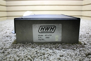 USED HWH AP14721 LEVELING CONTROL BOX RV PARTS FOR SALE