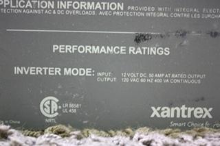 USED MOTORHOME XANTREX 400 INVERTER 80-0401-12 FOR SALE