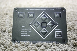 USED RV POWER GEAR 140-1226 ELECTRIC LEVELING TOUCH PAD FOR SALE