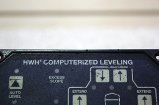 USED AP46382 HWH COMPUTERIZED LEVEING TOUCH PAD RV PARTS FOR SALE