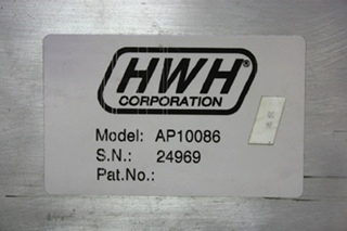 USED MOTORHOME HWH LEVELING CONTROL BOX AP10086 RV PARTS FOR SALE