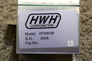 USED MOTORHOME AP29038 HWH LEVELING CONTROLBOX FOR SALE