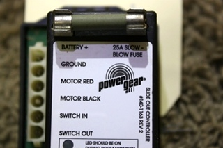 USED 140-1163 POWER GEAR SLIDE OUT CONTROLLER MOTORHOME PARTS FOR SALE