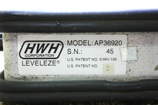 USED RV HWH LEVELEZE AP36920 FOR SALE