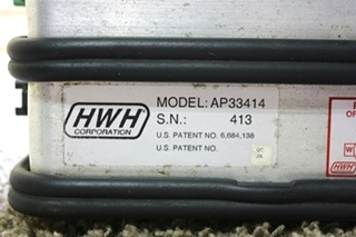 USED HWH 2 RING LEVELING CONTROL BOX AP33414 MOTORHOME PARTS FOR SALE