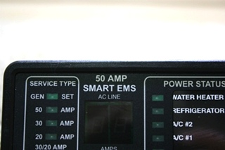 USED 50 AMP SMART EMS BY INTELLITEC 00-00903-150 MOTORHOME PARTS FOR SALE