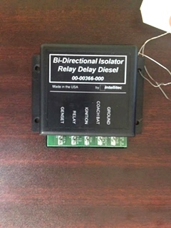 USED RV/MOTORHOME INTELLITEC BI-DIRECTIONAL RELAY DELAY PN: 00-00366-000