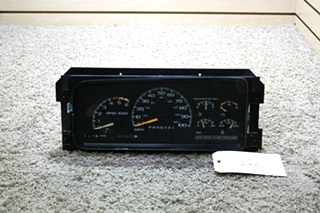 USED MOTORHOME WORKHORSE CHASSIS DASH CLUSTER 09379876 FOR SALE