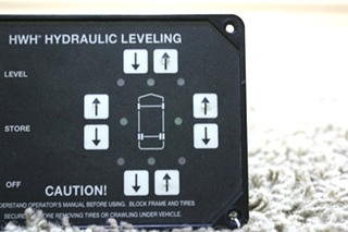 USED MOTORHOME HWH HYDRAULIC LEVELING TOUCH PAD AP29691 FOR SALE
