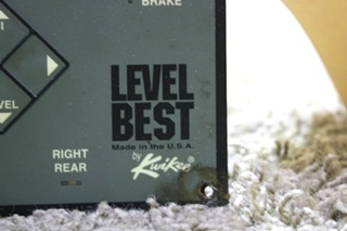 USED LEVEL BEST BY KWIKEE LEVELING TOUCH PART RV PARTS FOR SALE