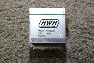 USED RV HWH LEVELING CONTROL BOX AP29038 FOR SALE