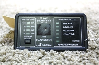 USED MOTORHOME 50 AMP SMART EMS BY INTELLITEC 00-00684-100 FOR SALE