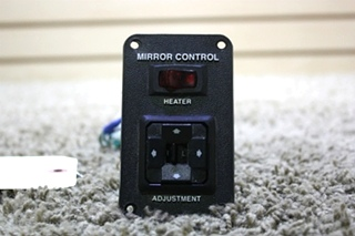USED RV MIRROR CONTROL WITH HEATER SWITCH FOR SALE