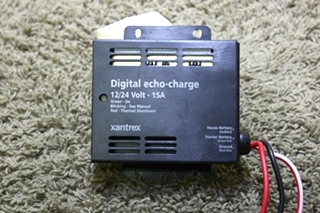 USED RV XANTREX DIGITAL ECHO-CHARGE 82-0123-01 MOTORHOME PARTS FOR SALE