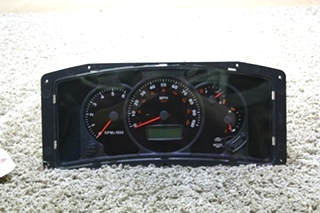 USED MOTORHOME WORKHORSE CHASSIS W-08573-06 DASH CLUSTER FOR SALE