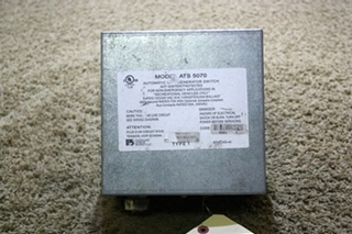 USED RV PARALLAX POWER SUPPLY ATS 5070 AUTOMATIC LINE / GENERATOR SWITCH FOR SALE
