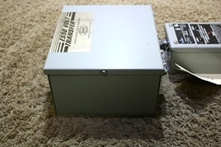 USED RV ES50 VOLT TRANSFER ES50-65N WITH TRANSIENT VOLTAGE SURGE SUPPRESSOR FOR SALE
