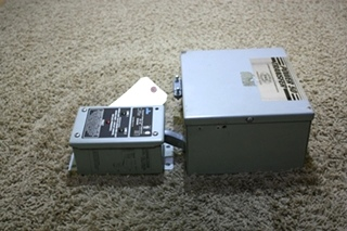 USED MOTORHOME POWER 50 TRANSFER AUTOMATIC GENERATOR-SHORELINE TRANSFER SWITCH WITH SURGE SUPPRESSOR FOR SALE
