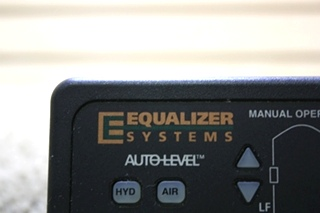 USED MOTORHOME EQUALIZER SYSTEMS AUTO LEVEL TOUCH PAD PN: 1978 FOR SALE