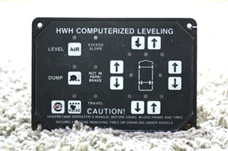 USED HWH COMPUTERIZED LEVELING TOUCH PAD AP8444 RV PARTS FOR SALE