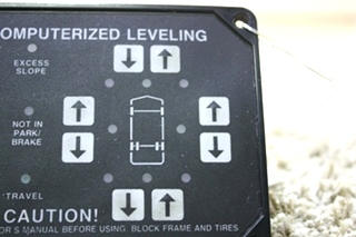 USED AP1088 HWH COMPUTERIZED LEVELING TOUCH PAD RV PARTS FOR SALE