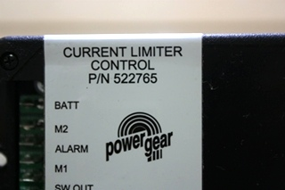 USED POWER GEAR CURRENT LIMITER CONTROL 522765 RV PARTS FOR SALE