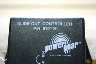 USED POWER GEAR SLIDE OUT CONTROLLER 510116 MOTORHOME PARTS FOR SALE