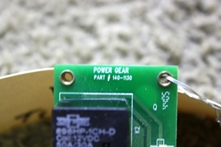 USED POWER GEAR SLIDE OUT CONTROL BOARD 140-1130 RV PARTS FOR SALE
