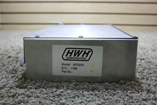 USED RV HWH LEVELING CONTROL BOX AP2205 FOR SALE