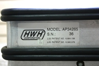 USED RV HWH AP34265 LEVELING CONTROL BOX MOTORHOME PARTS FOR SALE