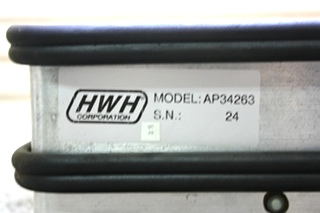 USED RV AP34263 HWH 2 RING LEVELING CONTROL BOX FOR SALE