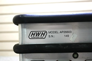 USED AP26603 HWH LEVELING CONTROL BOX RV PARTS FOR SALE