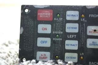 USED RV BIGFOOT LEVELING CONTROL TOUCH PAD MOTORHOME PARTS FOR SALE