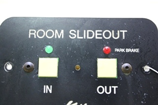 USED RV KWIKEE ROOM SLIDEOUT SWITCH PANEL FOR SALE