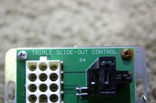 USED MOTORHOME 16615988 KIB TRIPLE SLIDE OUT CONTROL BOARD FOR SALE