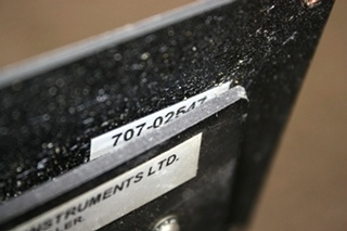 USED MOTORHOME SEELEVEL I TANK MONITOR PANEL 707-02547 FOR SALE
