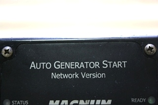 USED RV MAGNUM ENERGY AUTO GENERATOR START MOTORHOME PARTS FOR SALE