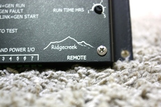 USED RV RIDGECREEK AUTO TEMP START MOTORHOME PARTS FOR SALE