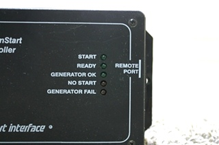 USED MOTORHOME HEART INTERFACE AUTOGENSTART CONTROLLER 84-7002-01 RV PARTS FOR SALE