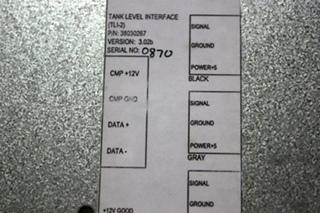USED MOTORHOME TANK LEVEL INTERFACE (TLI-2) PN: 38030267 FOR SALE
