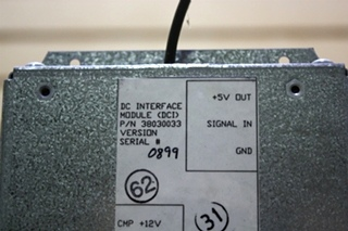 USED 38030033 DC INTERFACE MODULE (DCI) MOTORHOME PARTS FOR SALE
